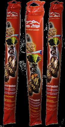 Nara-natur SUDŽUCH süß - Kaukasus Spezialität traditionell ausgezeichnete Traubensaft, mit Walnüssen, sehr lecker, Länge 40 cm, 200 g