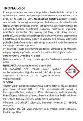 Trona Waschpulver Farbe 0,5kg - universelles phosphatfreies Waschpulver für farbige Wäsche. Polymer Ukrajina