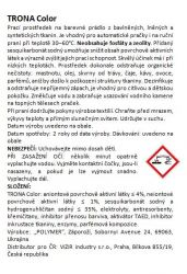Trona Waschpulver Color 1,0kg - universelles phosphatfreies Waschpulver für farbige Wäsche. Polymer Ukrajina