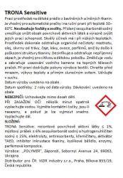 Trona Waschpulver Sensitive 0,5 kg - universelles phosphatfreies Waschpulver für Kinder und empfindliche Wäsche. Polymer Ukrajina