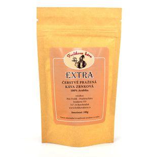 Frolíks Extra Coffee 100g das Korn - Dies ist 100% Arabica aus Mittelamerika und Asien. Jan Frolík - Pražírna kávy