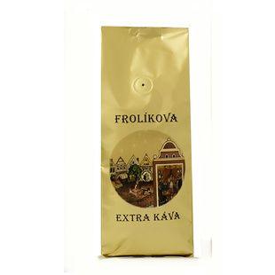 Frolíks Extra Coffee 1000g gemahlenen - Dies ist 100% Arabica aus Mittelamerika und Asien. Jan Frolík - Pražírna kávy