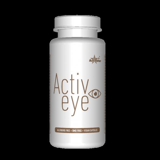 ACTIVE EYE 60 CAPSULE Safranextrakt mit gesundheitlichen Vorteilen für die Augen, geliefert in vegetarischen Kapseln. Activstar