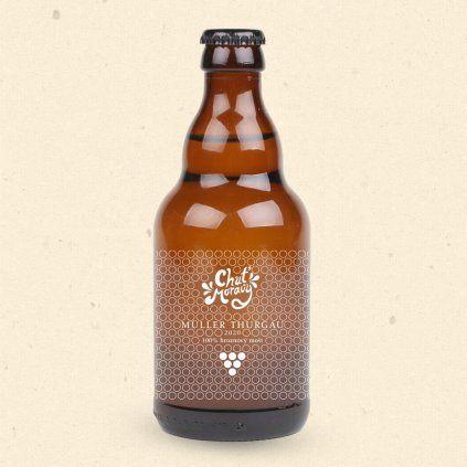 Geschmack von Mähren - Traubenmost der Sorte Müller Thurgause wird durch mechanisches Pressen gewonnen und nach dem Abfüllen in Flaschen schonend pasteurisiert. 330 ml Chuť Moravy s.r.o.