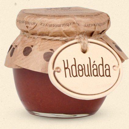 Der Geschmack der Mährischen Quitte ist eine Fruchtdelikatesse, die aus den Früchten der Quitte hergestellt wird. 100 ml Chuť Moravy s.r.o.
