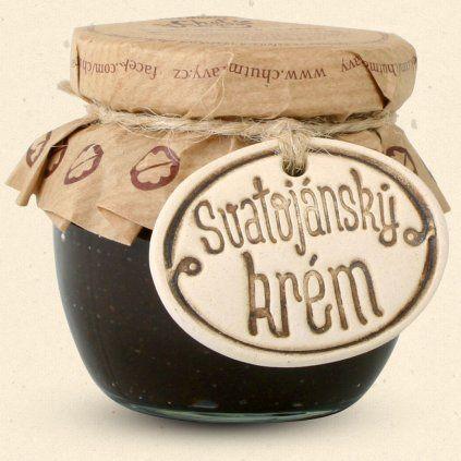 Geschmack von Mähren - Johannisbrotcreme - eine einzigartige süße Creme, die den Geschmack von Johannisbrotnüssen, dunkler Schokolade und feinem Walnusskaramell kombiniert. 100 ml Chuť Moravy s.r.o.