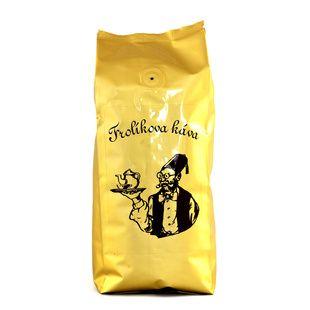 Frolíks Kaffee Diplomat 250g das Korn Es ist 100% Arabica aus Mittel-, Südamerika und Asien. Jan Frolík - Pražírna kávy