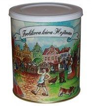Frolíks Kaffee Hejtman 250g gemahlen - Die Exklusivität dieser Mischung ergibt sich aus dem Verhältnis von Arabica zu Robusta 60: 40 Jan Frolík - Pražírna kávy